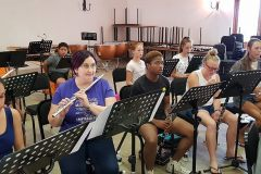 Members rehearsing during 2019 WCYO camp.